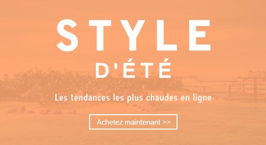 STYLE D'ÉTÉ