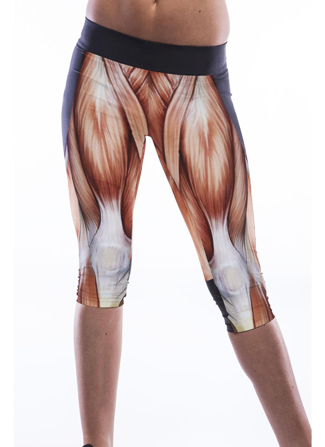 Muscle Leggings. WAS $ NOW $ Ships by next day! Order within. Size. Size: Please select a Workout much? Showcase your muscles in these comfortable muscle print leggings that you can take to the gym and beyond! Each fabric panel of our clothing is printed with the graphics before sewing to ensure the design is flawless and.