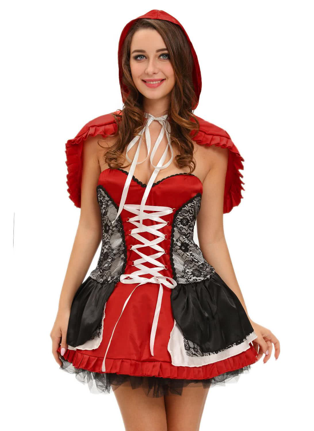 l Sweet Little Red Riding Hood Costume Dress