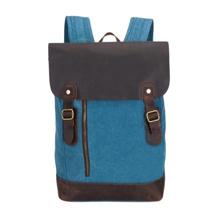 Buy Canvas Large Capacity Zipper Backpack Schoolbag
