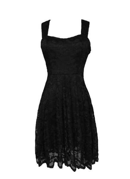 Buy Sexy Cute Women Lace Dress Sleeveless Open Back Tank
