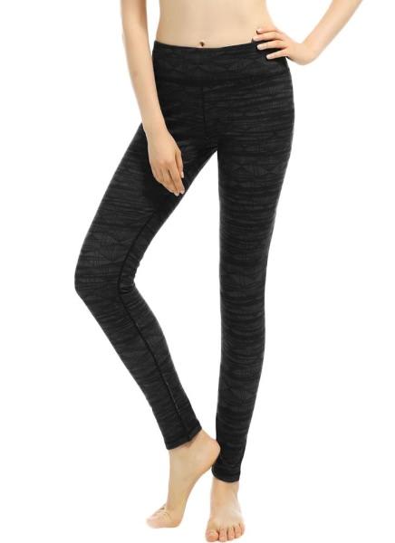 Buy Print High Waist Pocket Stretchy Yoga Sports Leggings