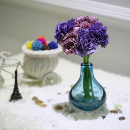 Anself 6 Heads Carnation Bouquet Artificial Silk Flower Home Decor