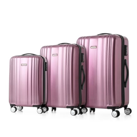Buy TOMSHOO Luxury Shiny Luggage Set