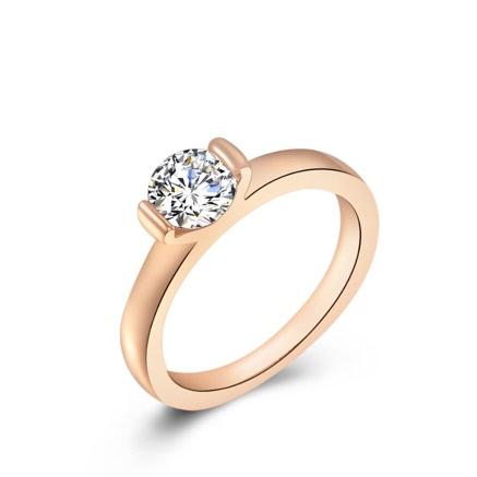 Buy Roxi Fashion New Jewelry Rhinestone Gold Plated Ring Women Engagement Wedding Gift
