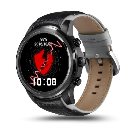 Buy LEMFO Phone 8G/1G Nano SIM Card OLED Screen Quad Core CPU GSM + WCDMA Wifi BT4.0 GPS Pedometer Heart Rate Smart Watch Android 4.4 & iPhone IOS 8.0