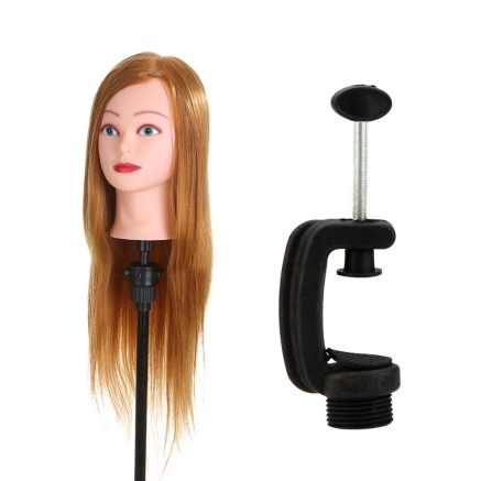 Buy Hairdressing Training Dummy Mannequin Head Clamp