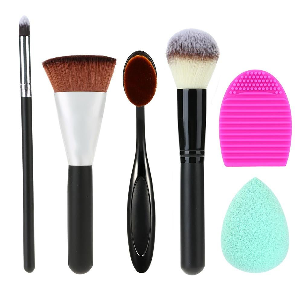 Buy 6 1 Makeup Brushes Kit