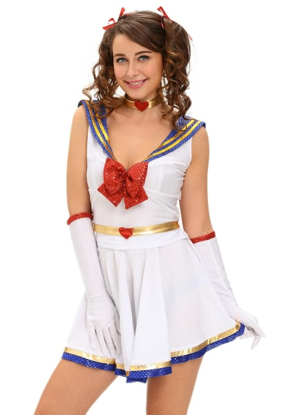 Buy Anime Sailor Heroine Costume