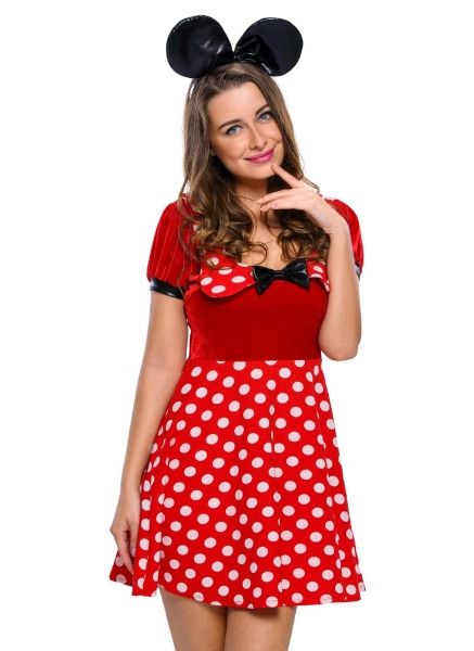 Buy Polka Dot Mouse Costume Red