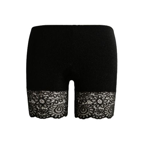 Solid Lace Slim Briefs Panties Underwear