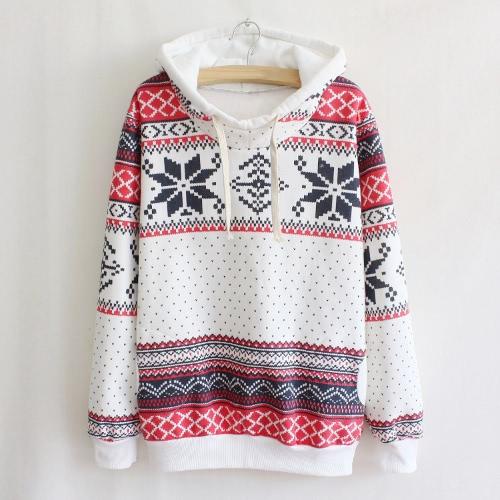WomenLong Sleeve Pullover Christmas Sweatshirt