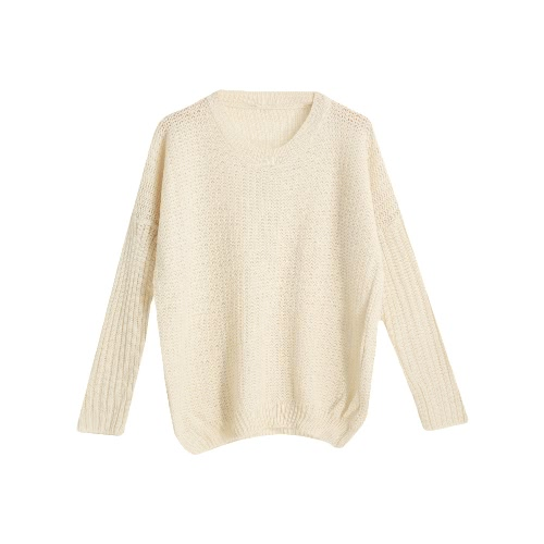 O Neck Hollow Out Warm Pullover Sweater