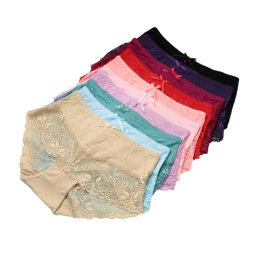 Lace Transparent Soft Briefs Underpants