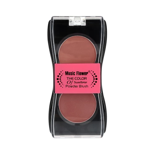 Maquillage 2 Colors Blusher Powder Palette Cosmetic Makeup
