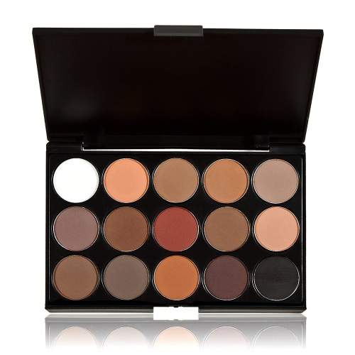 ANSELF Professional 15 Colors Cosmetic Makeup Eyeshadow Palette