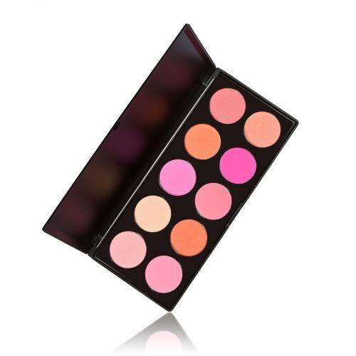 ANSELF 10 Color Glittering Matte Warm Combine Eyeshadow