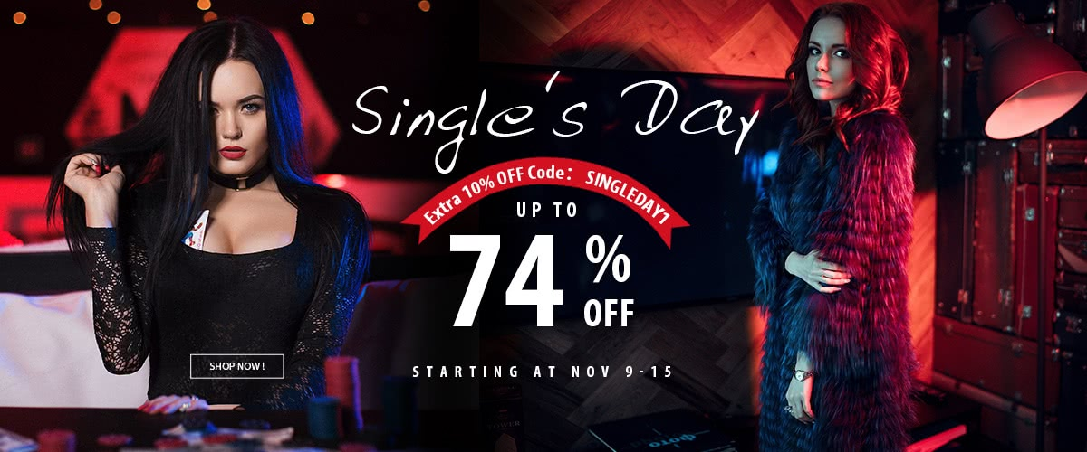 11.11 Beast Deals | Single's Day Clothing Deals Up To 74% Off
