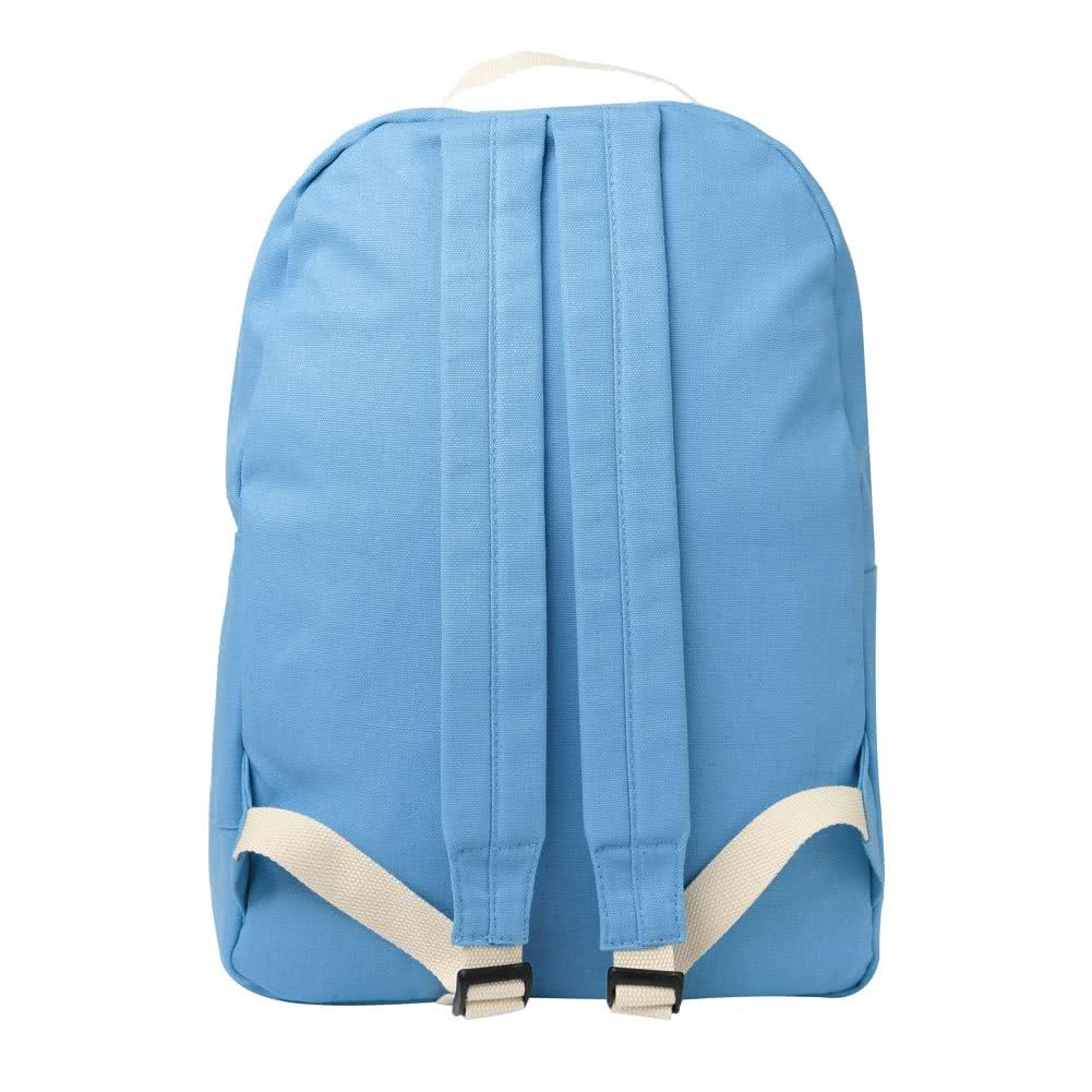 light blue print candy color preppy style backpack set chicuu