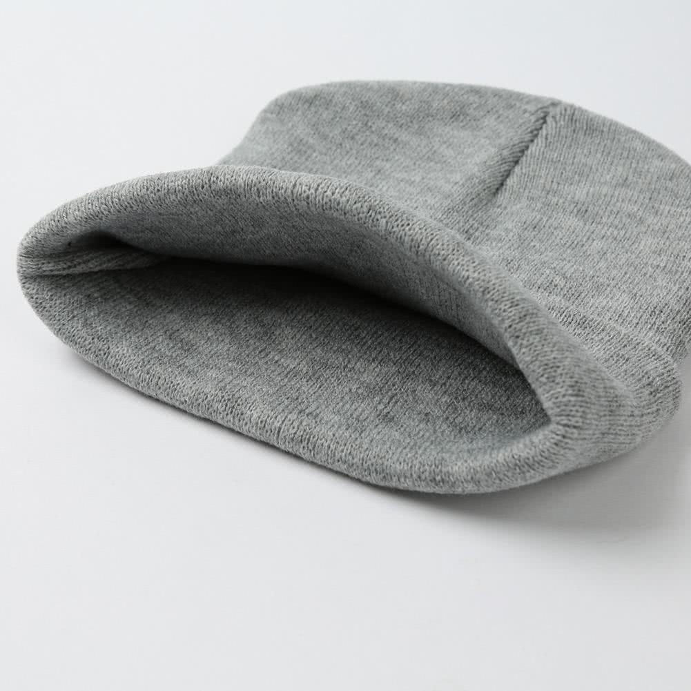 m nner frauen gestrickte m tzen hut plain alien stickerei dome herbst winter cap warm crochet. Black Bedroom Furniture Sets. Home Design Ideas