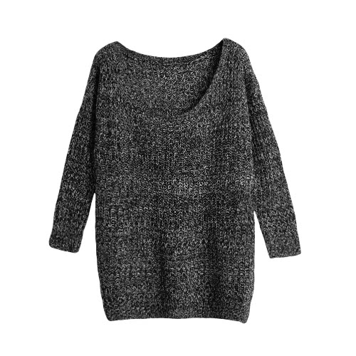 Long Sleeve Casual Loose Knitwear Top