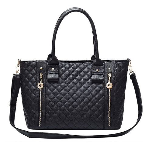 Trendy PU Leather Quilted...