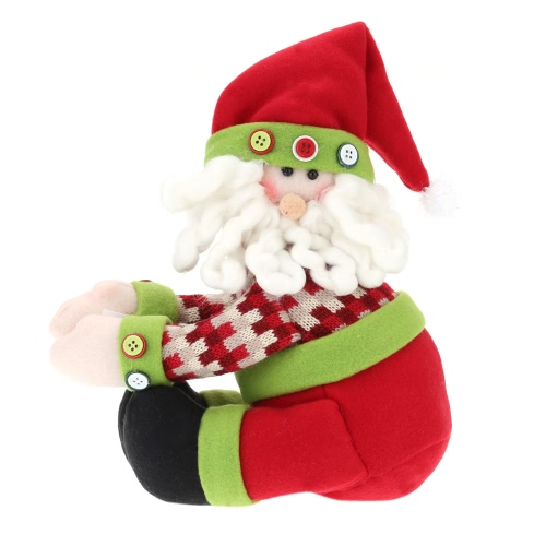 Hot Sale Lovely Decors for Winebottle Cover Doll Wine Bottle Decorate Christmas Santa Cover Decoration
