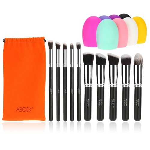 Abody 10Pcs Makeup Brush...